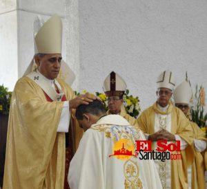 Arzobispo Santiago encabeza ordenación episcopal padre Tomás Morel Diplán
