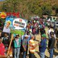 Rogelio y campesinos exigen saquen funcionarios y empresarios Valle Nuevo
