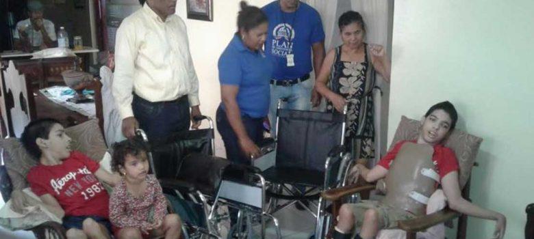Plan Social entrega donaciones familias Puerto Plata