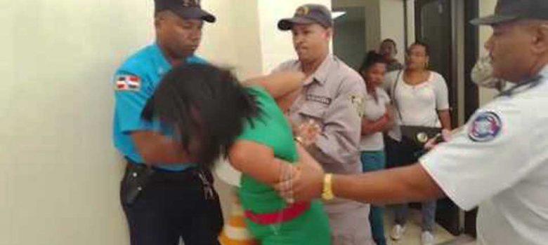 Someten a la justicia Policía agredió mujer embarazada