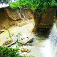 Santiago: Por lluvias colapsa el canal de riego Luis L. Bogaert