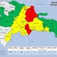 COE eleva a cuatro las provincias bajo alerta roja