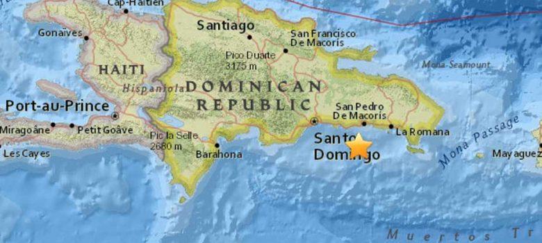 Temblor de tierra de 4.5 grados se siente en La Romana