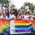 Comunidad GLBT de Santiago celebró caravana