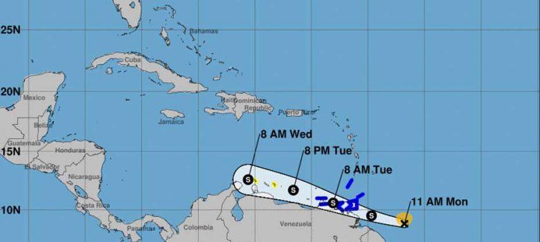 Depresión tropical número 2 se fortalece