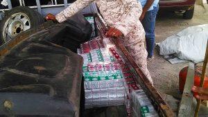 Descubren contrabando cigarrillos por frontera Dajabón