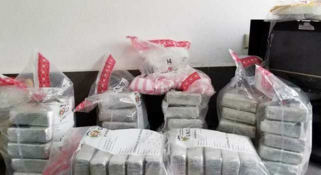 Autoridades incautan en Moca, 36 kilos de cocaína