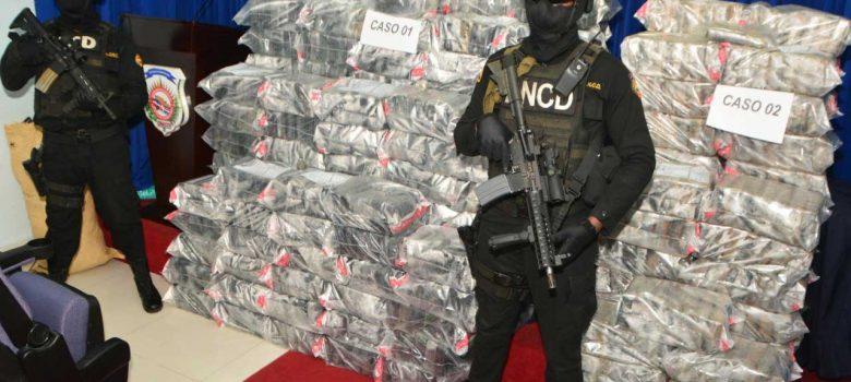 DNCD se ocupa de 1.074 paquetes de cocaína en Azua