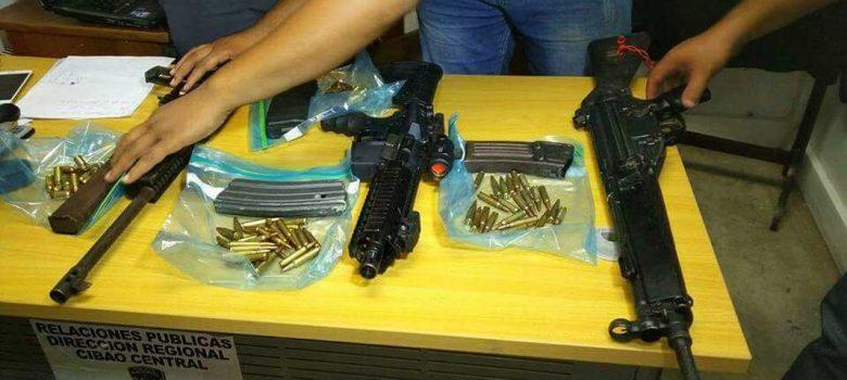 Investigan si fusiles fueron usados durante protestas en Navarrete