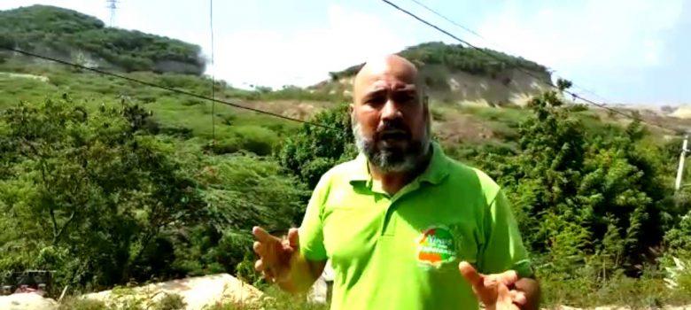 Pastor califica preocupante humareda vertedero Rafey