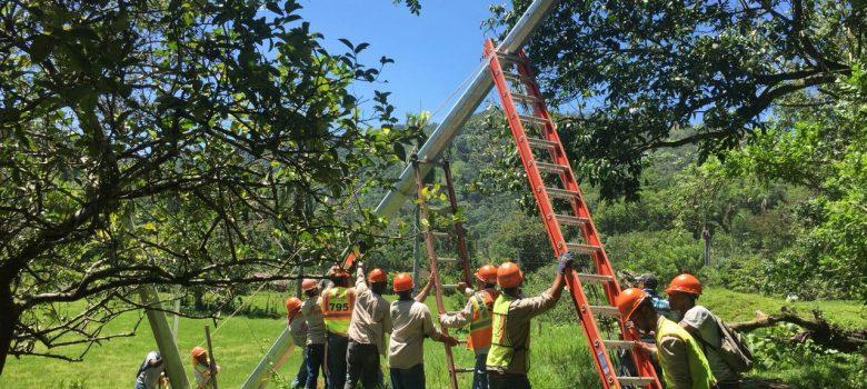 Edenorte suspende servicio en comunidades que siguen inundada