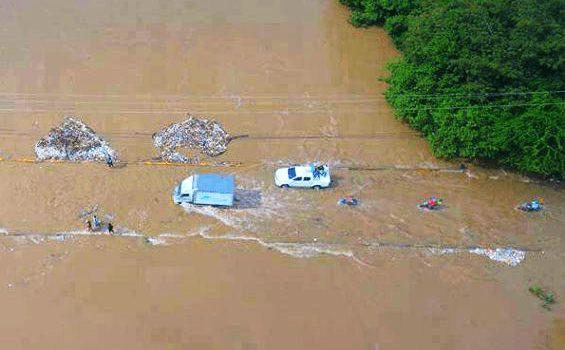 Siguen las inundaciones en la Línea Noroeste