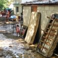 Autoridades levantan informe daños lluvias Santiago