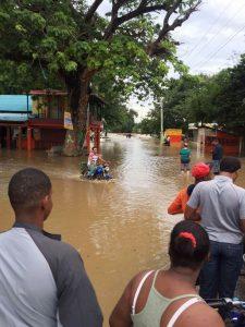 Crecida Yaque del Norte inunda pueblos Línea Noroeste