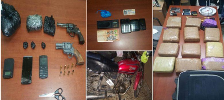 Santiago: Ocupan drogas, dinero y armas