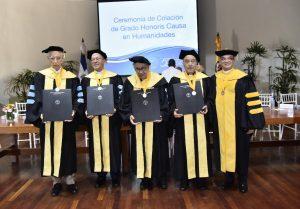 Reconocen sacerdotes  con doctorado honoris causa
