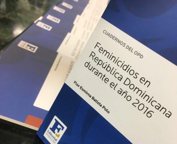 Revelan República Dominican registró 111 feminicidios en 2016