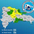 COE emite alertas en 11 provincias por lluvias