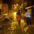 Aguaceros inundan 49 viviendas en Villa Isabela