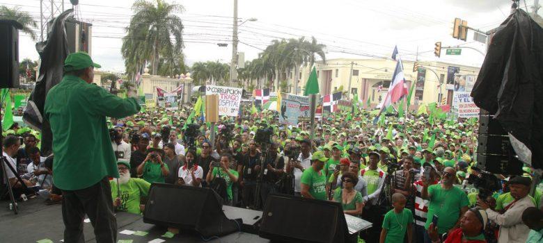 Marcha Verde propone transformaciones institucionales y políticas