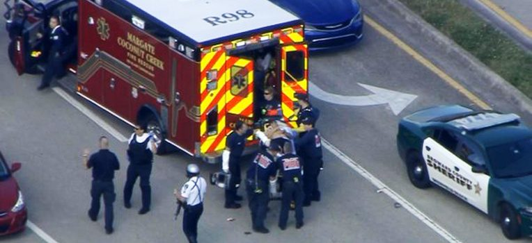 Al menos 20 heridos tiroteo escuela norte de Florida
