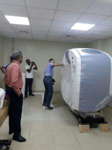 Entregan tomógrafos hospitales Arturo Grullón y Ángel Contreras
