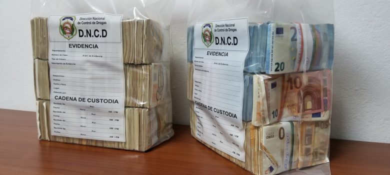DNCD se incauta de dólares y euros