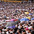Miles asisten a misa Corpus Christi, Santiago