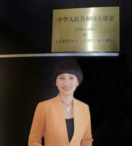 Fu Xinrong anuncia instalación de la Embajada de la República Popular China en RD