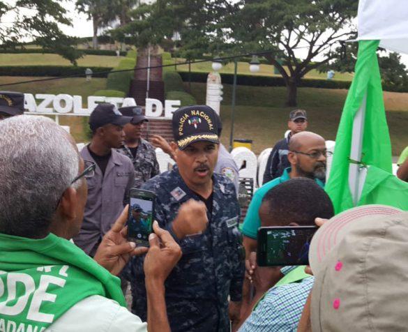 PN prohíbe instalación Campamento Verde en Santiago