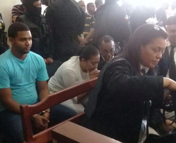 A juicio de fondo Marlon y Marlin Martínez por caso Emely Peguero