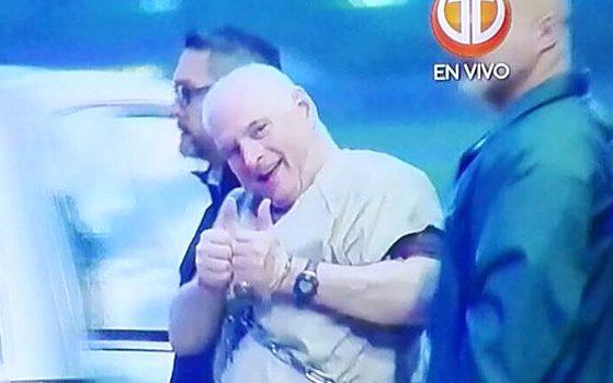 Hospitalizan expresidente panameño tras extradicción EEUU