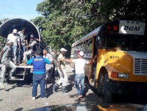 Migración interviene Puerto Plata