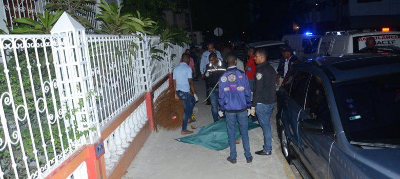 Matan presidente Junta de Vecinos en Gascue