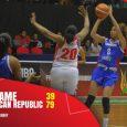 Selección femenina de basket gana en Surinam