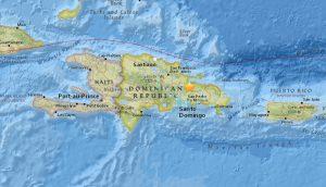 Sismo de 4.8 grados sacude el norte de Bayaguana