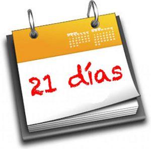 21 días, ¿Mito o realidad?
