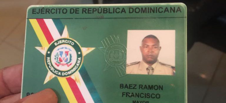 Muere un oficial del Ejército en accidente en Maimón