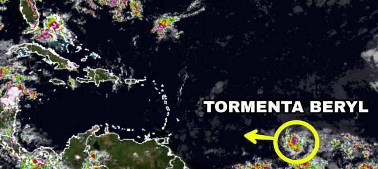 Se forma la tormenta tropical Beryl