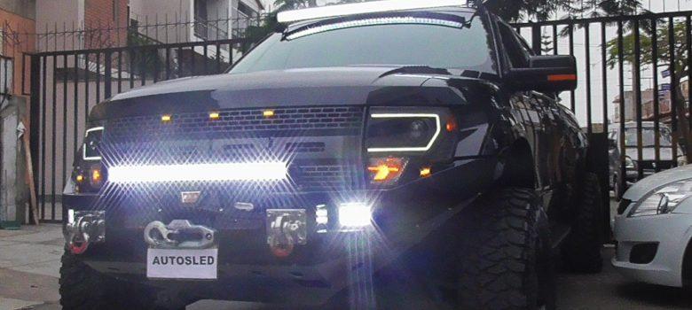 Intrant prohibe uso de barras Led en vehículos de motor