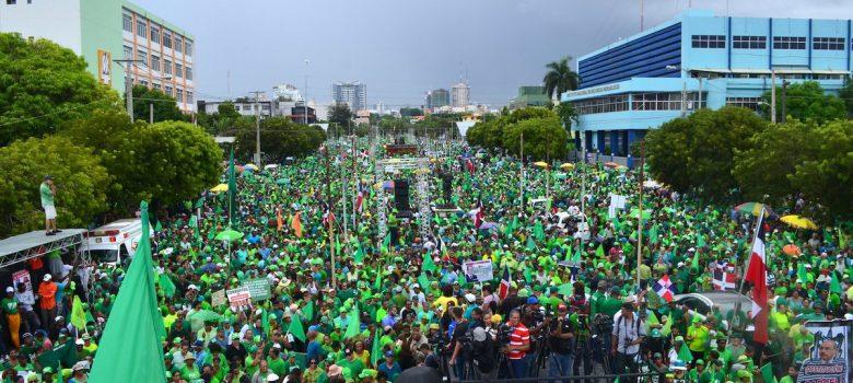 Marcha Verde dice democracia está restringida y secuestrada