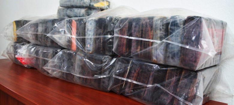 DNCD ocupa 51 kilos de cocaína y 14 libras de marihuana