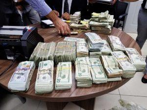 DNCD incauta 244 mil dólares llegaron desde PR