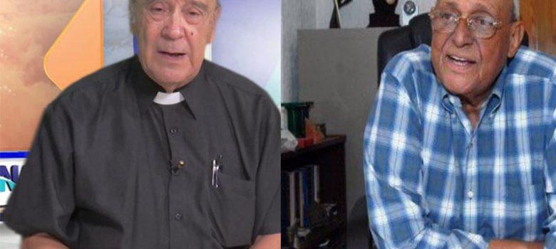 Se recuperan padre César Hilario y el jurista Negro Veras