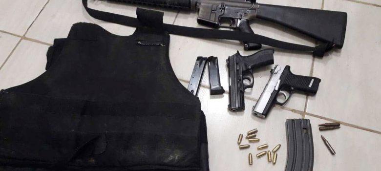 Recuperan fusil caso Báez Abreu