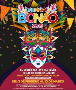 Carnaval Bonao 2019 con grandes estrellas de la música