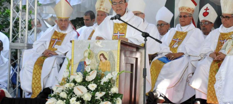 Cardenal Rosa Chávez define Haití como pueblo sufrido