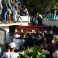 Sepultan restos bombero asesinado en Villa González