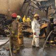 Fuego destilería Brugal controlado en un 80%