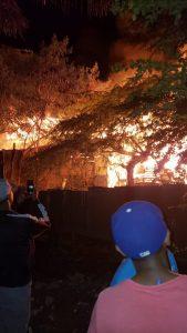 Un muerto durante incendio en Los Salados Viejo